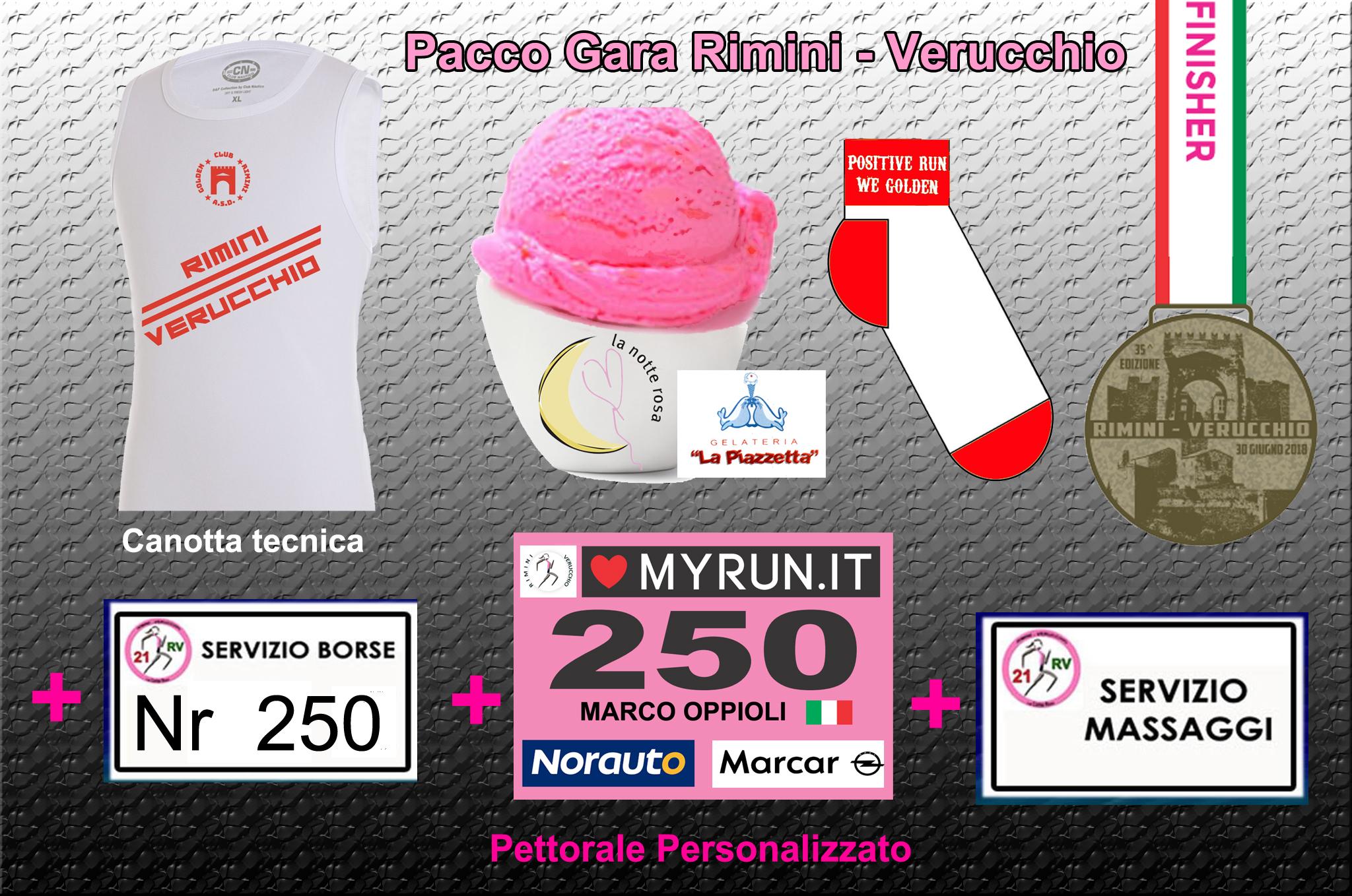 Pacco Gara Rimini Verucchio
