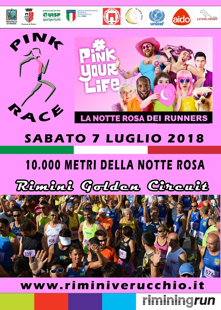 Pink Race - Fronte